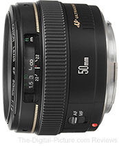 Canon EF 50mm f/1.4 USM Lens - $299.00 w/ Free Shipping (Compare at $339.00)