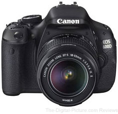 Canon 600D DSLR Camera Kit