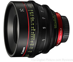 Canon Announces CN-E35mm T1.5 L F Cinema Lens