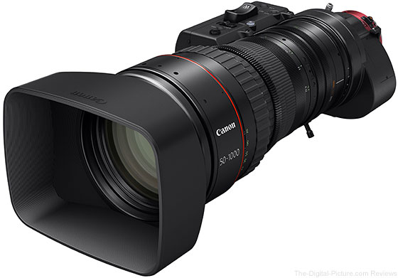 Canon 50-1000mm Cine-Servo Ultra Zoom Lens Available for Preorder