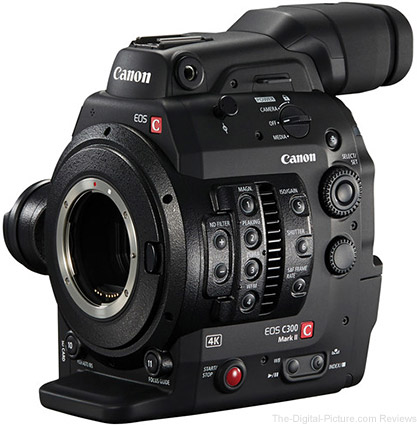 Canon EOS Cinema Cameras On Sale for Independence Day