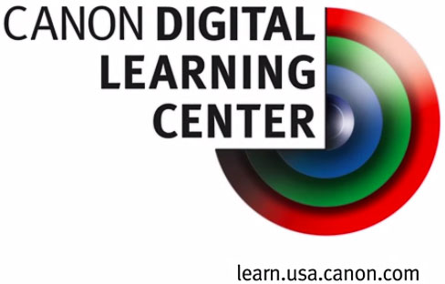 Canon Digital Learning Center Logo