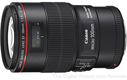 Canon EF 100mm f/2.8 L IS USM Lens - $739.00 AR (Reg. $899.00 AR)