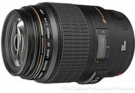 Canon EF 100mm f/2.8 USM Macro Lens - $499.00 (Compare at $549.00)