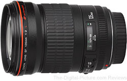 Canon EF 135mm f/2L USM Lens - $889.00 AR (Compare at $989.00 AR)