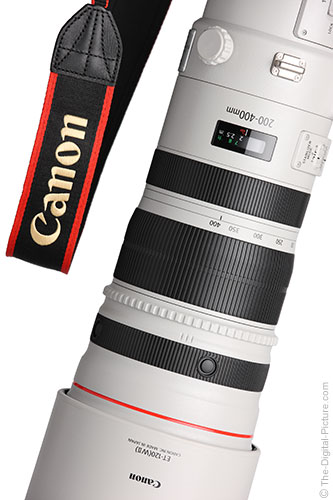 Canon EF 200-400mm f/4 L IS Lens Creative Tilt