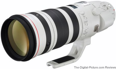 Just announced: Canon EF 200-400mm f/4L IS USM Extender 1.4x Lens