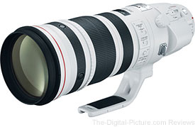 B&H and Adorama Now Shipping Canon EF 200-400mm f/4L IS USM Extender 1.4x Lenses
