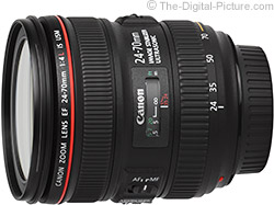 Canon EF 24-70mm f/4.0 L IS USM Lens