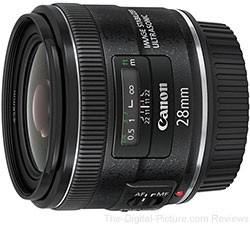 Canon EF 28mm f/2.8 IS USM Lens - $349.00 Shipped (Reg. $499.00)