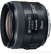 Canon EF 35mm f/2 IS USM Lens Price Drop - Now Only $599.00