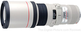Refurbished Canon EF 400mm f/5.6L USM Lens - $910.52