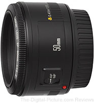 Canon EF 50mm f/1.8 II Lens - $109.00 Shipped (Compare at $125.00)