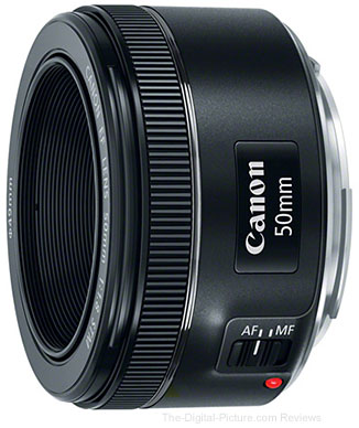 Canon Announces EF 50mm f/1.8 STM Lens