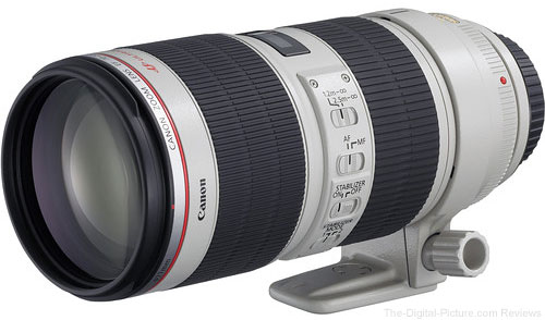 Canon EF 70-200mm f/2.8L IS II USM Lens (Open Box) - $1,699.95 Shipped (Compare at $1,949.00 New)
