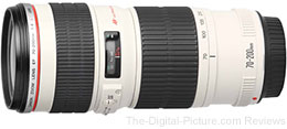 Canon EF 70-200mm f/4 L USM Lens - $644.00 Shipped (Compare at $709.00)