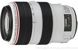 OOS: Refurbished Canon EF 70-300mm f/4-5.6L IS USM Lens - $1,087.32 (Compare at $1,399.00 New)