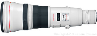 Canon EF 800mm f/5.6L IS USM Lens + $1,000.00 Adorama Gift Card - $13,249.00 Shipped