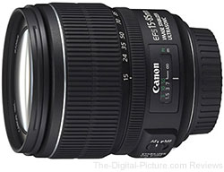 Canon EF-S 15-85mm f/3.5-5.6 IS USM Lens - $629.00 (Compare at $699.00)