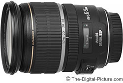 Canon EF-S 17-55mm f/2.8 IS USM Lens & Filter Bundle - $795.84 with 2-Day Shipping
