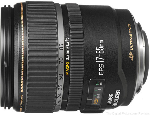 Canon EF-S 17-85mm f/4-5.6 IS USM - $299.00 Shipped (Reg. $599.00)