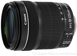 Canon EF-S 18-135mm f/3.5-5.6 IS STM Lens - $359.00 (Compare at $499.00)