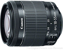 Canon EF-S 18-55mm f/3.5-5.6 IS STM Lens In Stock