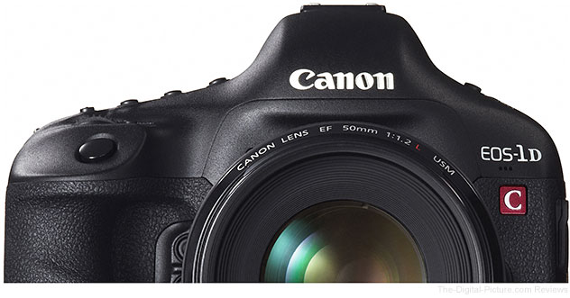 Canon EOS 1D C Firmware Version 1.3.9 Released