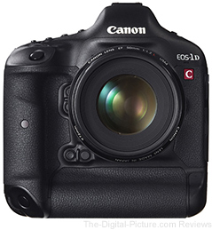 Canon EOS 1D C Firmware Version 1.3.4 Now Available