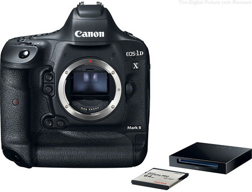 Canon EOS 1D X II: Free CFast Memory Card and Reader Offer Ending Soon