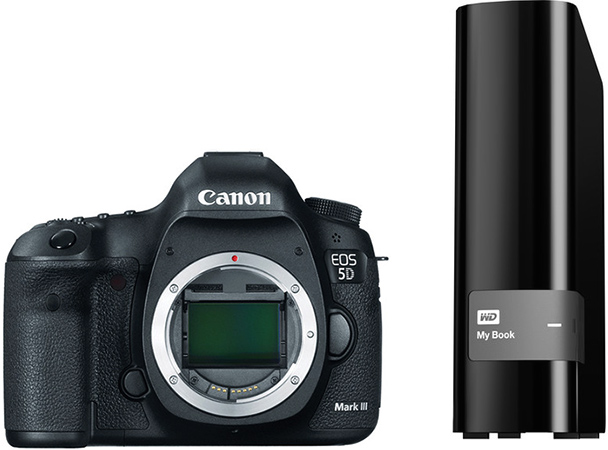 Get 4TB of Free External Storage or a 1-Year Adobe Photography Plan Subscription with Purchase of the Canon EOS 5D III or 7D II