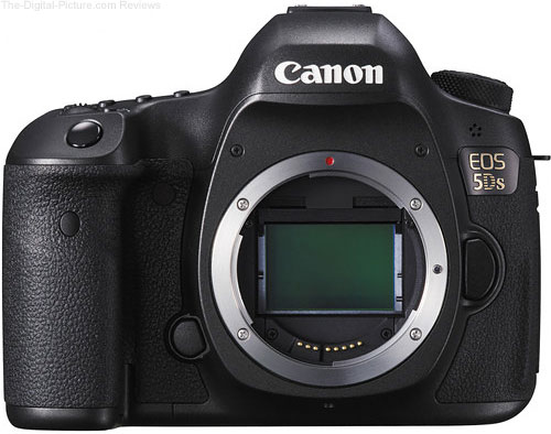 Canon EOS 5Ds DSLR Camera - $2,598.81 Shipped (Compare at $3,499.00)