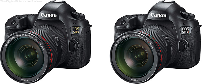 Canon EOS 5Ds and 5Ds R Ultra-High Resolution DSLR Cameras