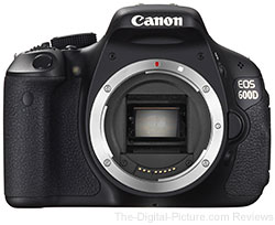 Canon EOS 600D (Rebel T3i) DSLR Body