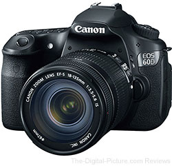 Canon EOS 60D DSLR Camera with Canon EF-S 18-135mm IS Lens Bundle - $899.00 Shipped