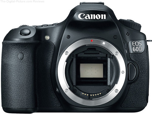 Refurbished Canon EOS 60D DSLR Camera - $579.00 with Free Shipping (Compare at $699.00 New)