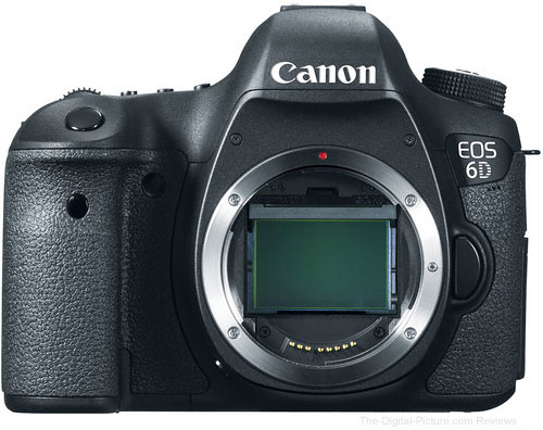 Refurbished Canon EOS 6D DSLR Camera - $1,291.32 (Compare at $1,699.00 New)