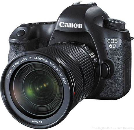 Canon EOS 6D DSLR Camera with EF 24-105mm IS STM Lens Kit