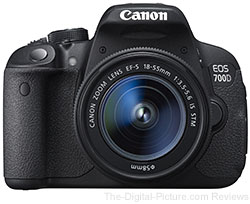 Canon EOS 700D (Rebel T5i) with EF-S 18-55mm IS STM Lens