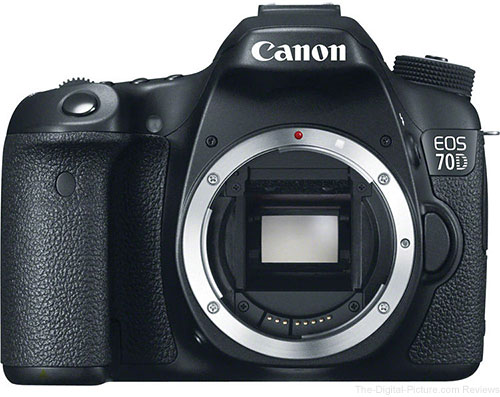 Canon EOS 70D DSLR Camera - $1,049.00 (Compare at $1,099.00)