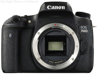 Canon EOS 760D (Rebel T6s) DSLR Camera