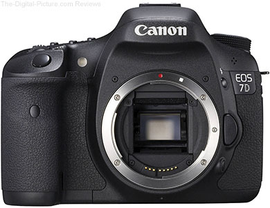 Refurbished Canon EOS 7D DSLR Camera - $799.00 Shipped (Compare at $1,399.00 New)