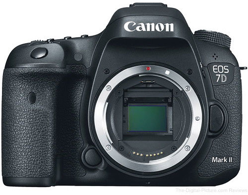 Canon EOS 7D Mark II DSLR Camera - $1,477.20 Shipped (Compare at $1,699.00)