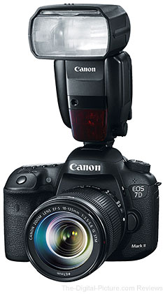 Canon EOS 7D Mark II with 600EX-RT Speedlite Flash