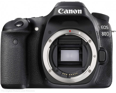 Canon EOS 80D DSLR Camera - $952.99 Shipped (Compare at $1,199.00)