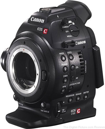 Canon EOS C100 Cinema EOS Camera - $1,799.00 Shipped (Reg. $3,999.00)