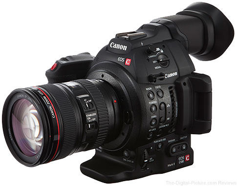 Canon EOS C100 Mark II Cinema Camera Announced