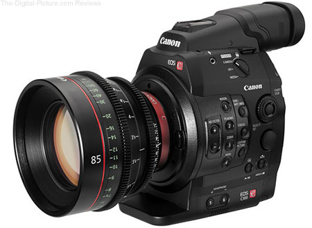 Canon EOS C300/C300PL Firmware Update 1.0.8.1.00 Available