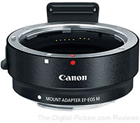 Canon EF-M Lens Adapter Kit for Canon EF / EF-S Lenses - $69.99 Shipped (Compare at $159.00)