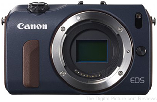 Canon EOS M Mirrorless Camera Body-Only (Bay Blue) - $234.36 Shipped
